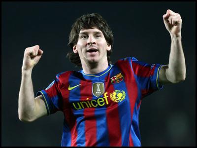 Messi al terzo Pallone d'Oro